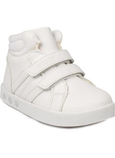 Vicco Vicco 313.B19K.104 Lucky Işıklı Kız/Erkek Çocuk Spor Bot Ayakkabı Beyaz